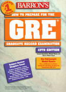 How to Prepare for the GRE - Graduate Record Exam 13th edition 9780764107795 0764107798