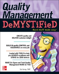 Quality Management Demystified 1st Edition 9780071449083 0071449086