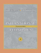 International Economics 8th edition 9780321488831 0321488830