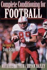 Complete Conditioning for Football 1st Edition 9780880115216 0880115211