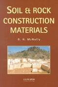 Soil and Rock Construction Materials 1st Edition 9780203476574 0203476573