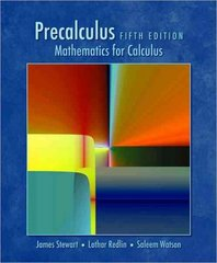 Precalculus, Enhanced WebAssign Edition (with Mathematics and Science Printed Access Card and Start Smart) 5th edition 9780495557500 0495557501