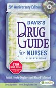 Davis's Drug Guide for Nurses, with CD-ROM 11th edition 9780803619111 0803619111