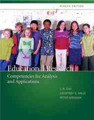 Educational Research 9th Edition 9780135035016 0135035015