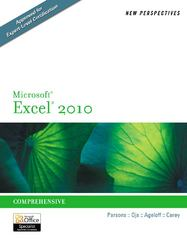 New Perspectives on Microsoft Excel 2010 1st Edition 9780538742917 0538742917