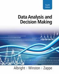Data Analysis and Decision Making (with Online Content Printed Access Card) 4th edition 9780538476126 0538476125