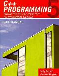 C++ Programming: From Problem Analysis to Program Design