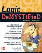 Logic DeMYSTiFied 1st Edition 9780071701280 0071701281