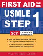 First Aid for the USMLE Step 1 2012 22nd edition 9780071776370 0071776370