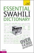 Essential Swahili Dictionary: A Teach Yourself Guide 3rd edition 9780071747424 0071747427