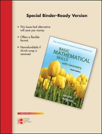 Looseleaf for Basic Math Skills w/Geometry 8th edition 9780077452353 0077452356