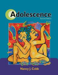 Adolescence 7th Edition 9780878933389 0878933387