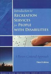 Introduction to Recreation Services for People with Disabilities 3rd Edition 9781571675743 1571675744