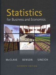 Statistics for Business and Economics plus MyMathLab/MyStatLab Student Access Code Card 11th edition 9780321708991 0321708997