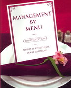 Management by Menu 4th Edition 9780471475774 0471475777