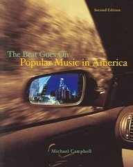 Popular Music in America 2nd edition 9780534555344 0534555349