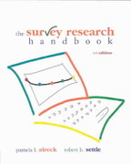 Survey Research Handbook (Paperback) 3rd Edition 9780072945485 0072945486