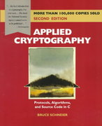 Applied Cryptography 2nd Edition 9780471117094 0471117099