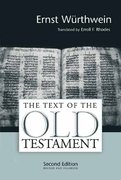 The Text of the Old Testament 2nd edition 9780802807885 0802807887