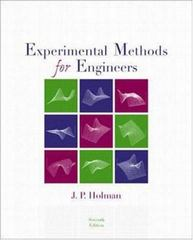 Experimental Methods for Engineers 7th edition 9780073660554 0073660558