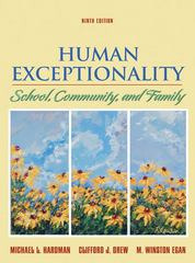 Human Exceptionality 9th edition 9780618920426 0618920420