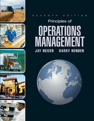 Principles of Operations Management 7th edition 9780132343282 0132343282
