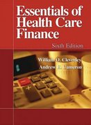 Essentials of Health Care Finance 6th Edition 9780763742362 0763742368