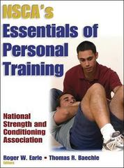 NSCA's Essentials of Personal Training 1st edition 9780736000154 0736000151