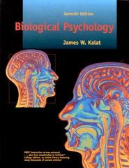 Biological Psychology 7th Edition 9780534514006 0534514006