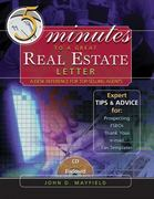 Five Minutes to a Great Real Estate Letter 1st edition 9780324235029 032423502X