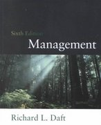 Management 6th edition 9780030351389 0030351383