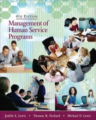 Management of Human Service Programs 4th edition 9780495007821 049500782X