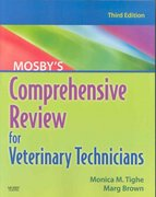 Mosby's Comprehensive Review for Veterinary Technicians 3rd edition 9780323075688 0323075681
