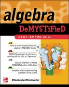 Algebra Demystified 1st edition 9780071389938 0071389938