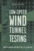 Low-Speed Wind Tunnel Testing 3rd edition 9780471557746 0471557749