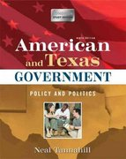 American and Texas Government 9th edition 9780205573073 020557307X
