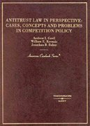 Antitrust Law in Perspective 0 9780314231222 0314231226