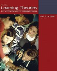 Learning Theories 5th edition 9780132435659 0132435659
