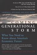 The Coming Generational Storm 1st Edition 9780262612081 0262612089
