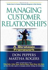 Managing Customer Relationships 1st Edition 9780471485902 047148590X