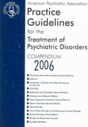 Treatment of Psychiatric Disorders 1st edition 9780890423851 0890423857