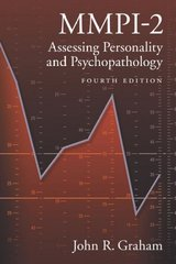 MMPI-2 Assessing Personality and Psychopathology Fourth Edition 4th Edition 9780195168068 0195168062