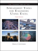 Spreadsheet Tools for Engineers using Excel 3rd edition 9780072971842 0072971843