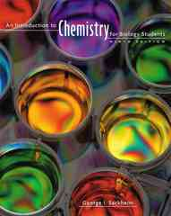 An Introduction to Chemistry for Biology Students 9th edition 9780805395716 0805395717