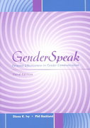 GenderSpeak: Personal Effectiveness in Gender Communication 3rd edition 9780072483932 0072483938