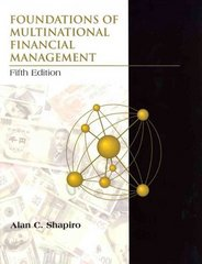 Foundations of Multinational Financial Management 5th Edition 9780471563372 0471563374