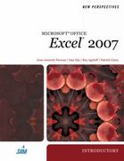 New Perspectives on Microsoft Office Excel 2007, Introductory 1st edition 9781423905844 1423905849