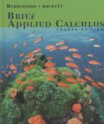 Brief Applied Calculus 4th edition 9780618606368 061860636X