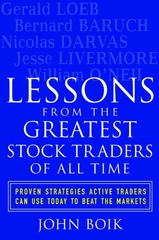 Lessons from the Greatest Stock Traders of All Time 1st edition 9780071437882 0071437886