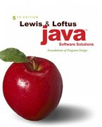 Java Software Solutions 5th edition 9780321409492 0321409493